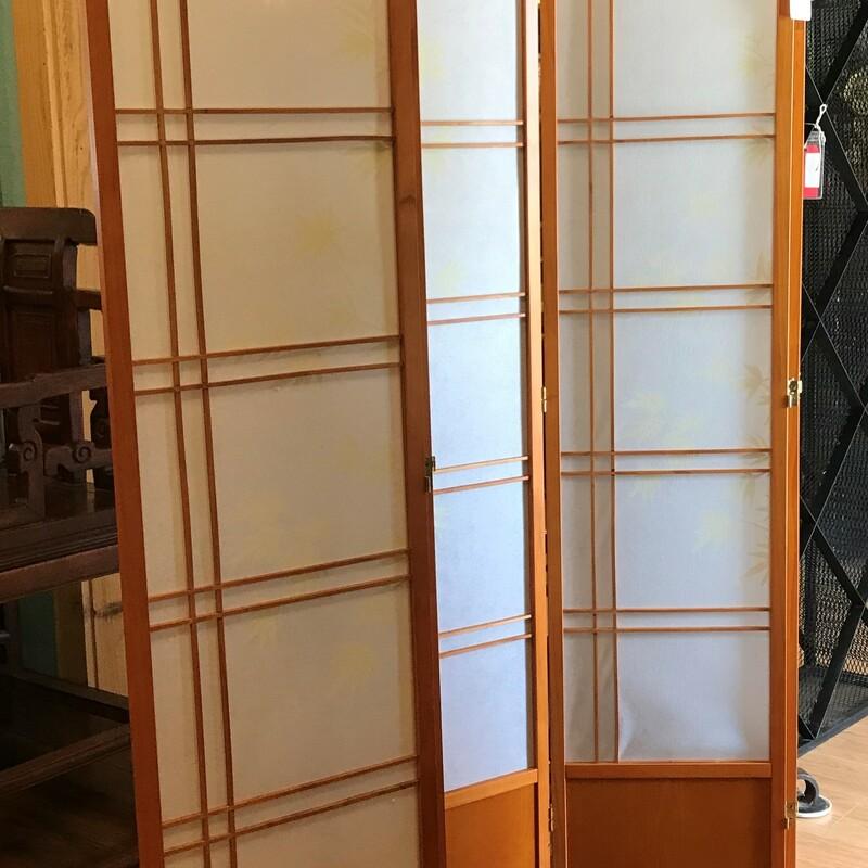 Bamboo Tree Shoji Screen