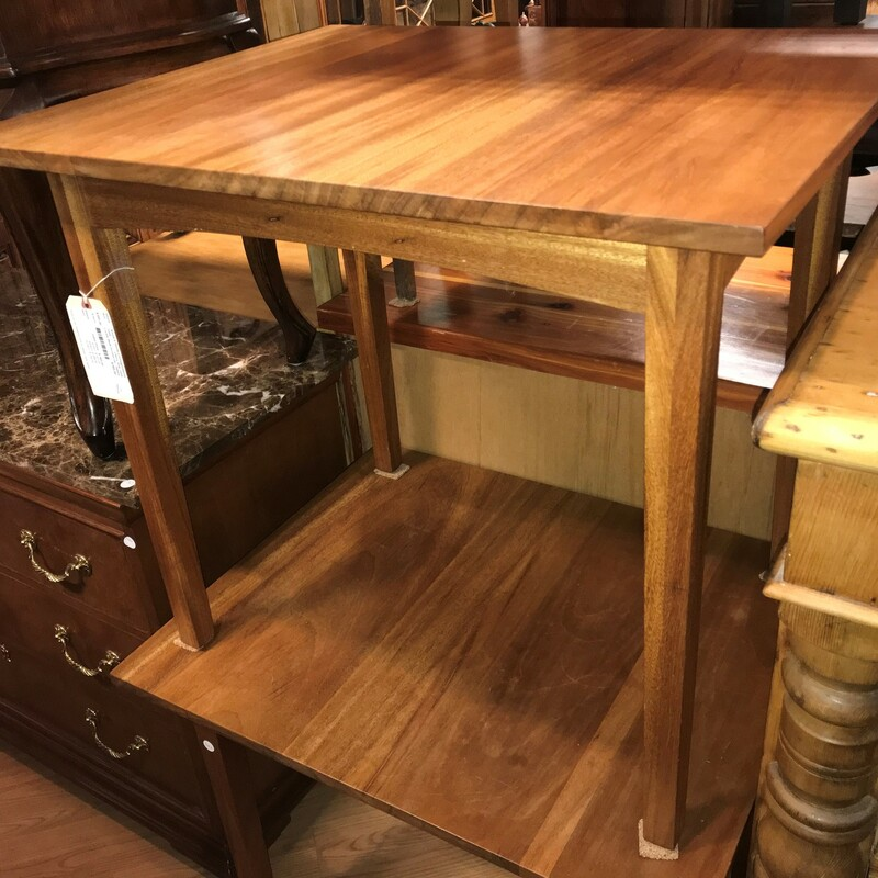 Locally Made Dovetail Des, Cherry, Side Table Size:  30in x 24in x 26in