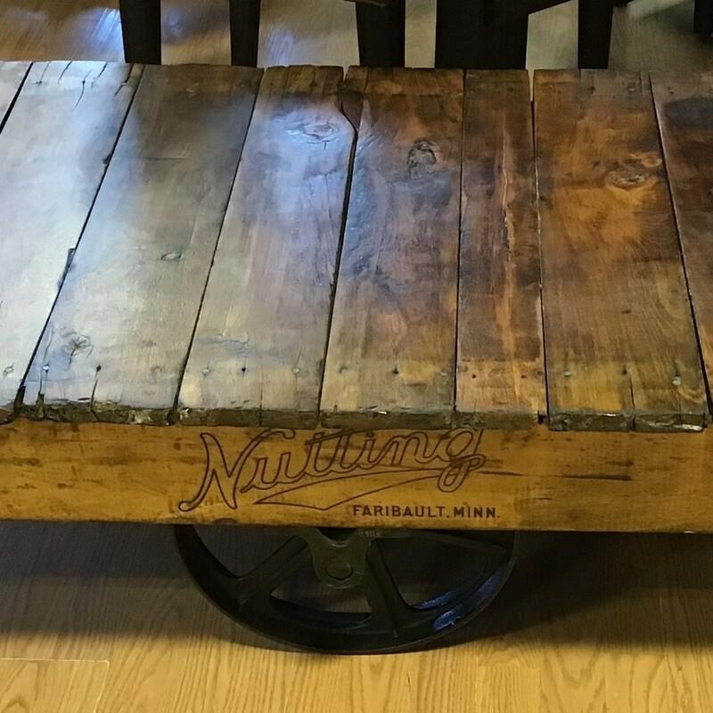 Antique Rolling Cart