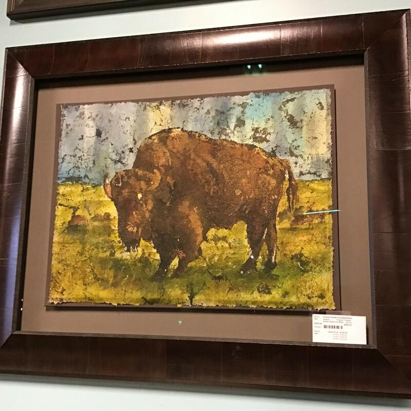 Buffalo Watercolor Batik