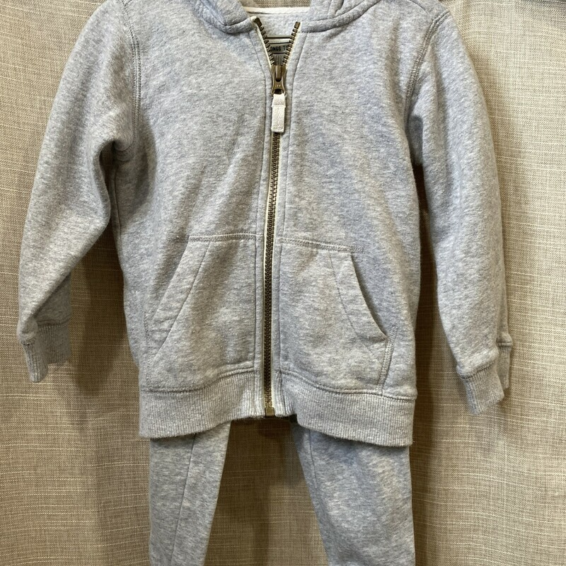 Carters, Grey, Size: 3T