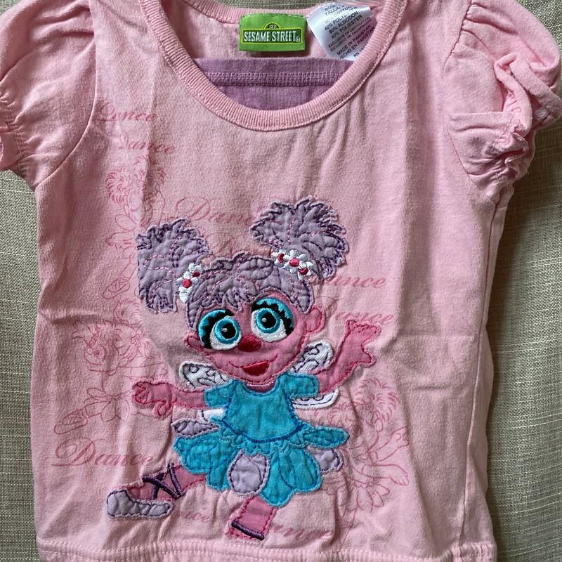Sesame Street, Pink, Size: 4T