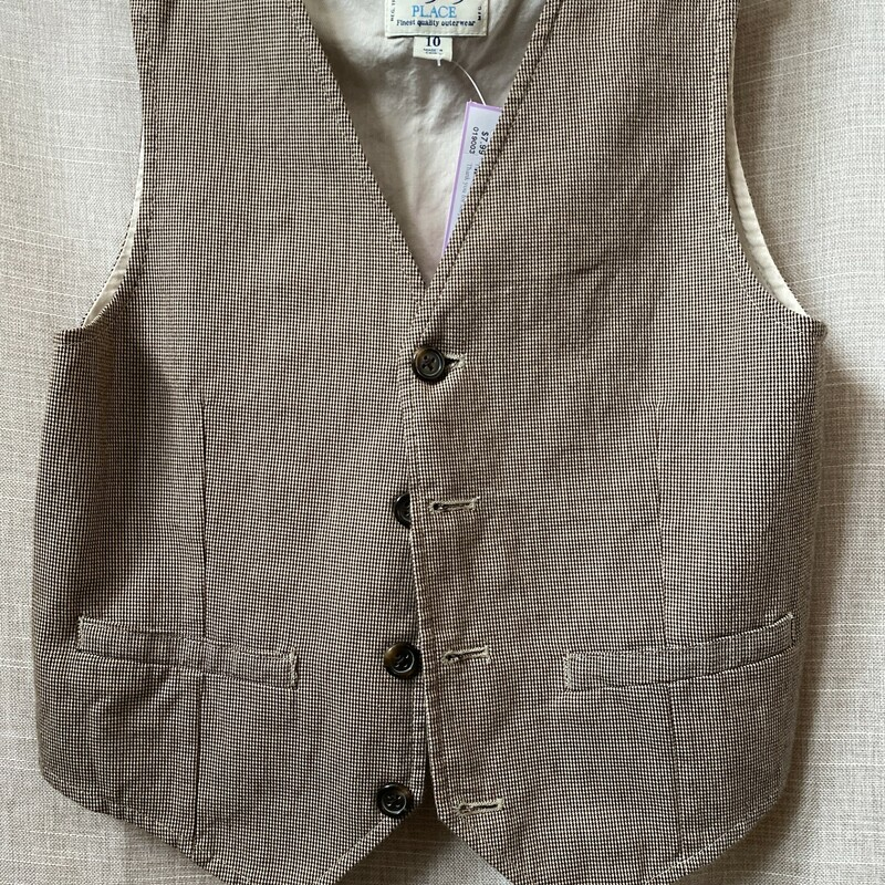 Place, Brown, Size: 10