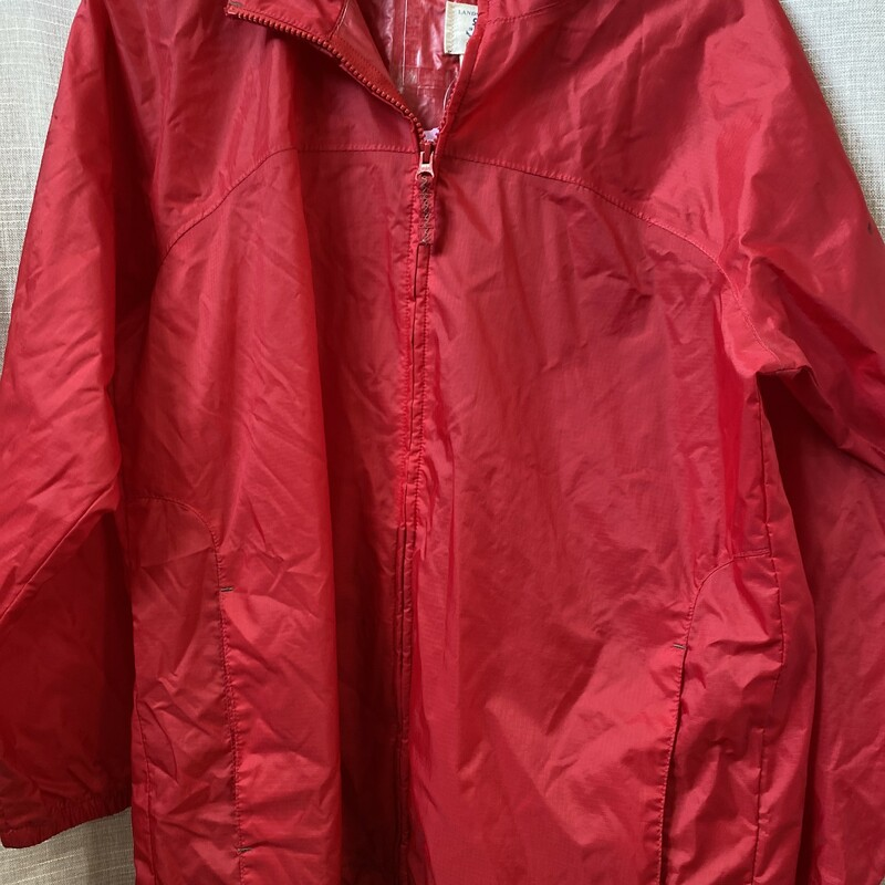 Lands End, Red, Size: 14/16