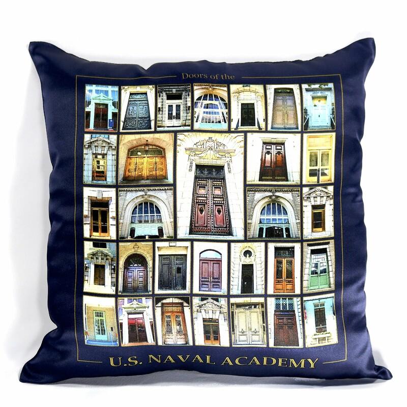 USNA Doors Pillow Cover