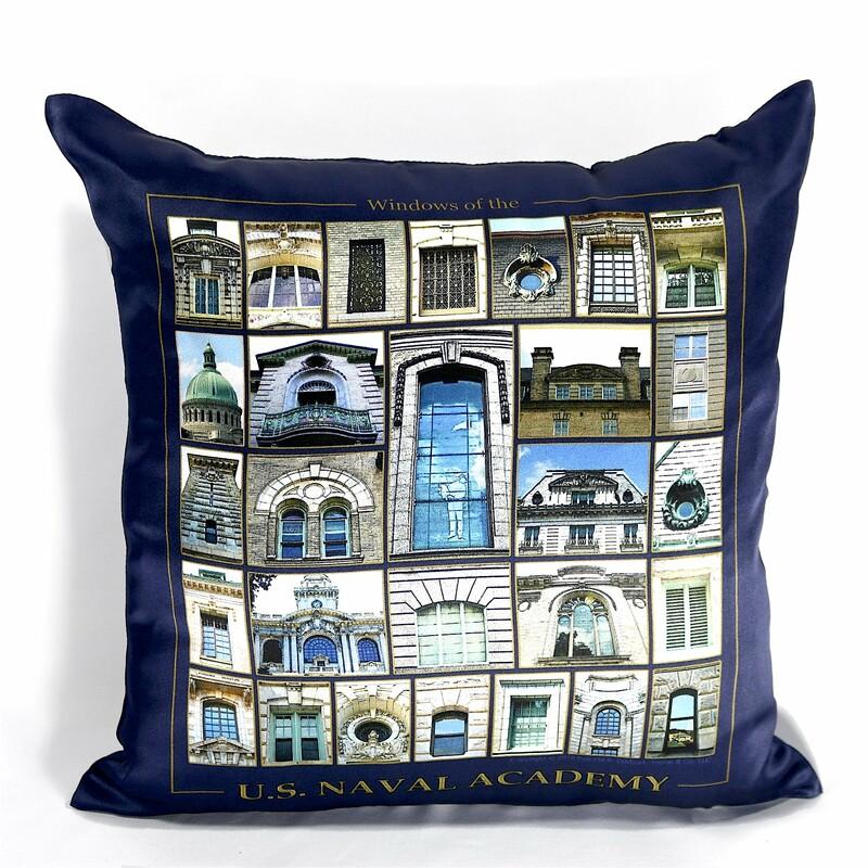 USNA Windows Pillow Cover