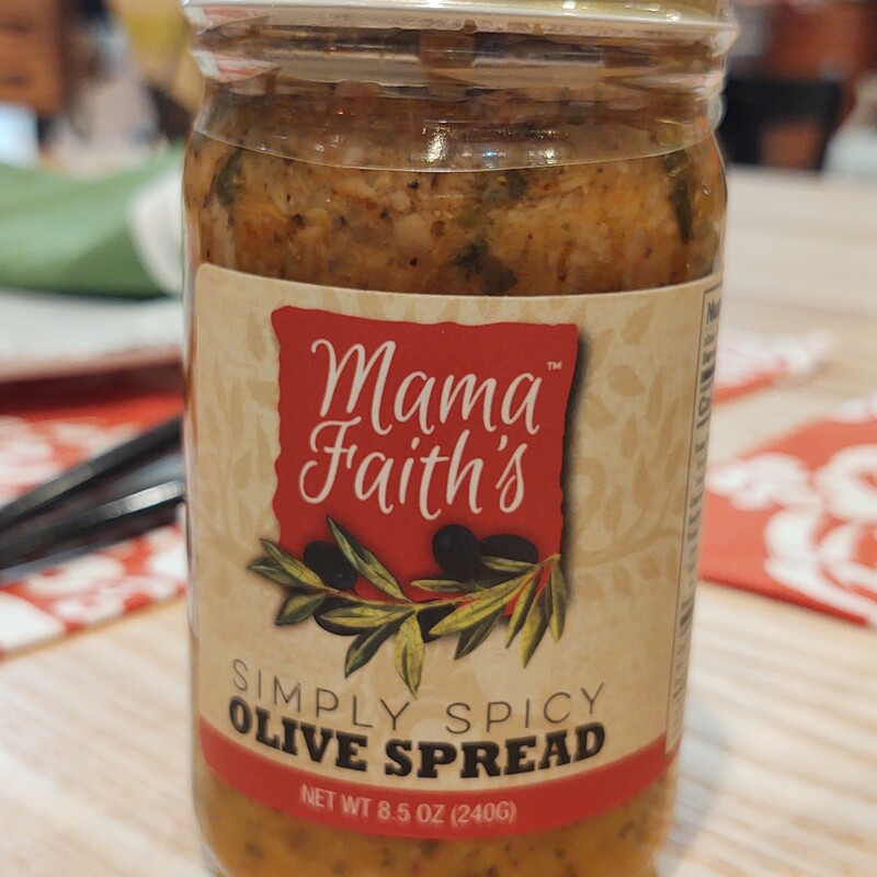 Spicy Olive Spread