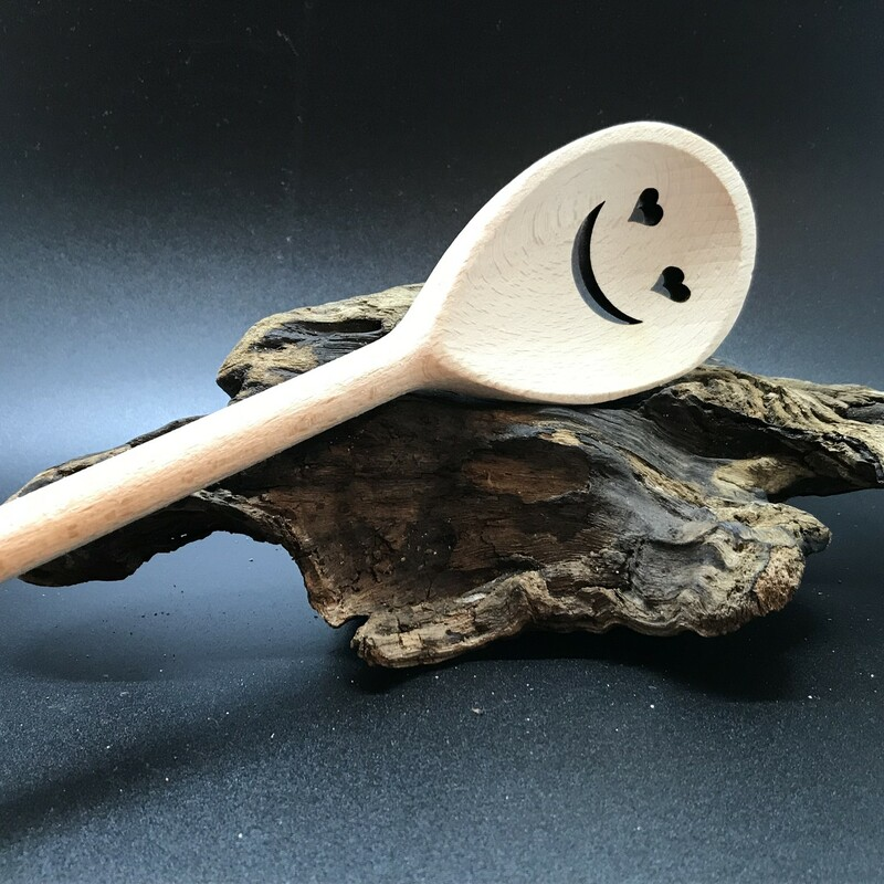 Spoon; Smile Heart Eyes