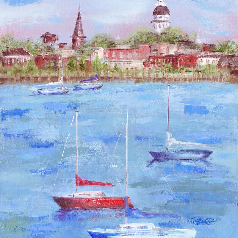 Annapolis Summer Print