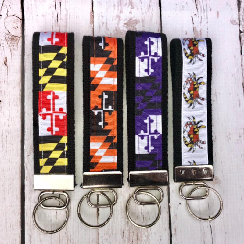 Key Fob Maryland Flag