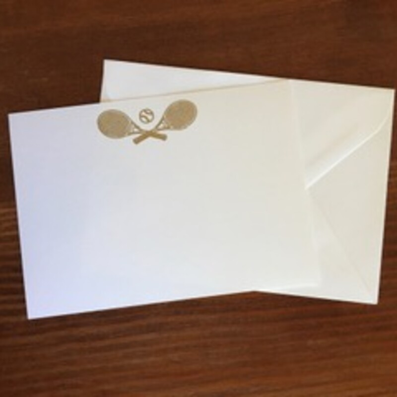 Gold Tennis / White Cards