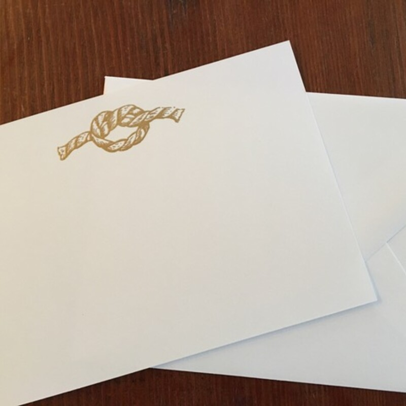 Gold Knot / White Cards