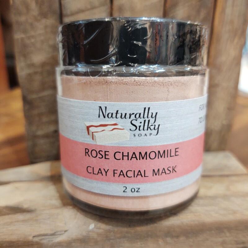Rose Chamomile Clay Mask