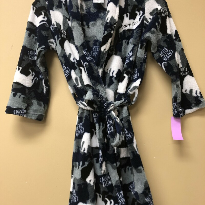 Calvin Klein Robe, Grey, Size: 7/8yrs