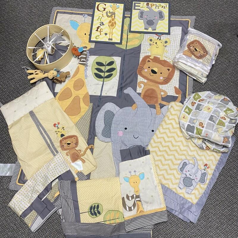Giraffe Nursery Set