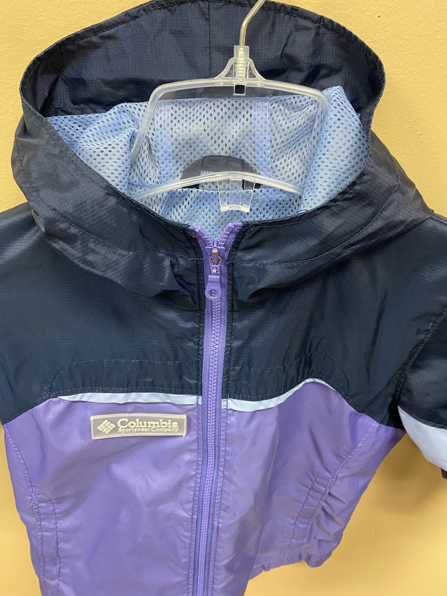 Columbia Spring Coat, Purple, Size: 3yrs
