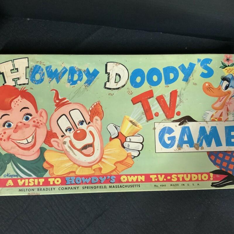 Howdy Doody TV Game 1950's