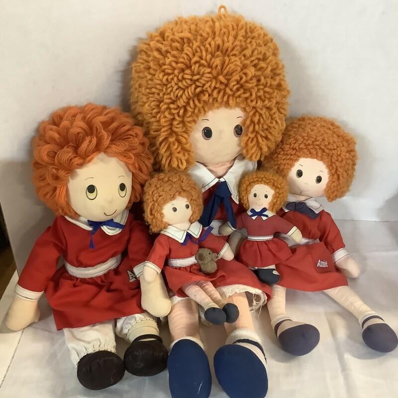 Annie Doll Lot