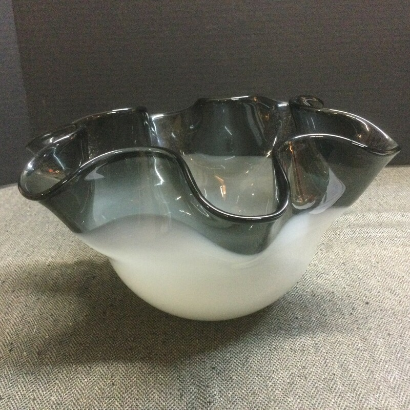 Glass Black Bowl