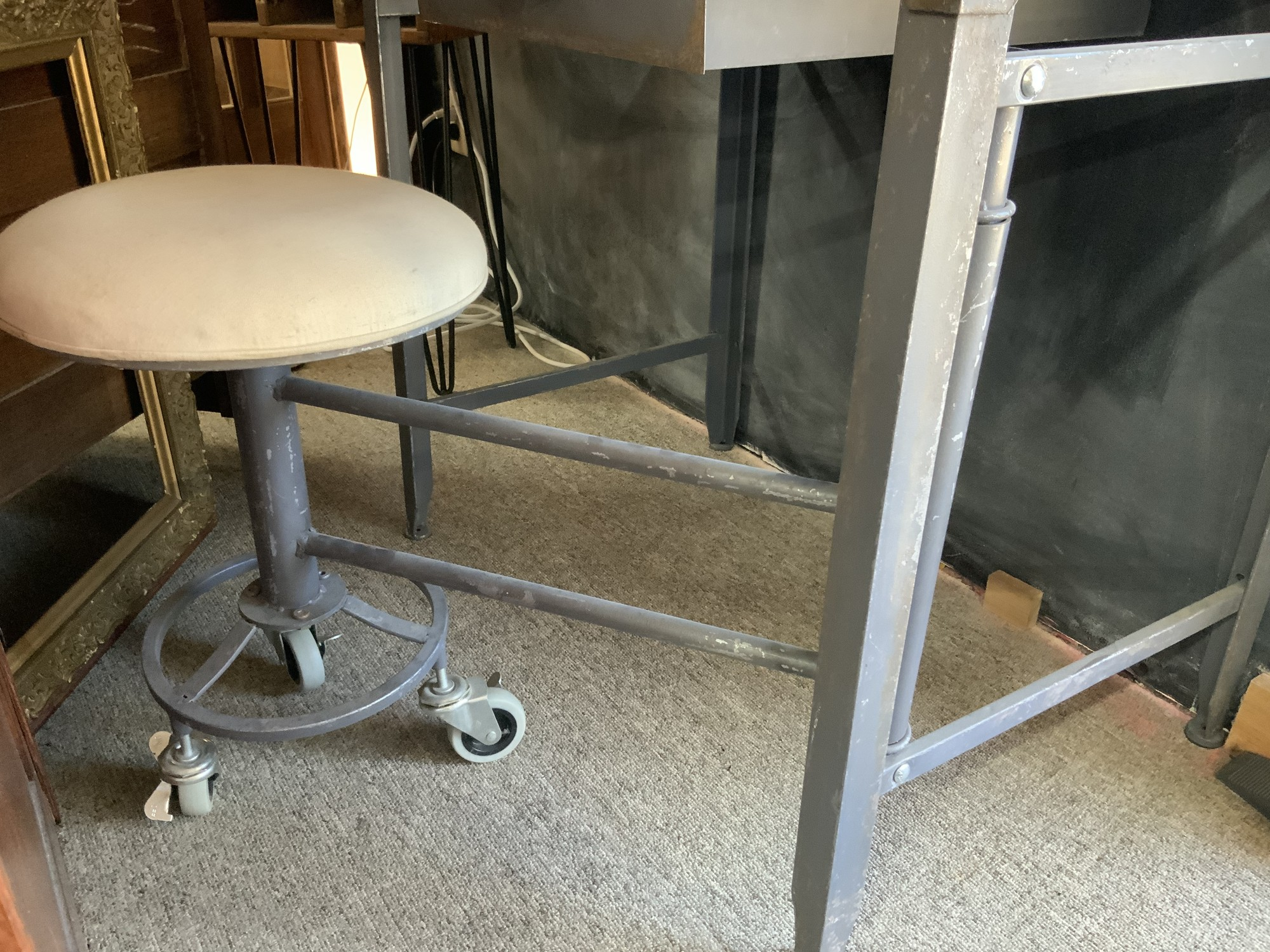 Attached Swing Stool
