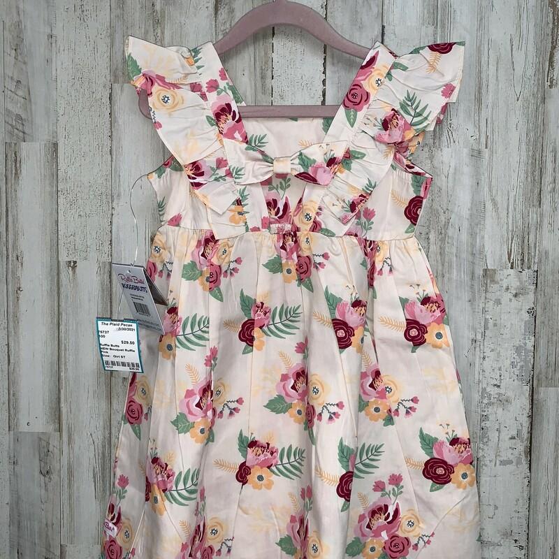 NEW Bouquet Ruffle Dress