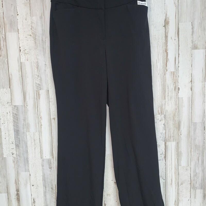 Black Dress Pants 8, Black, Size: Ladies M