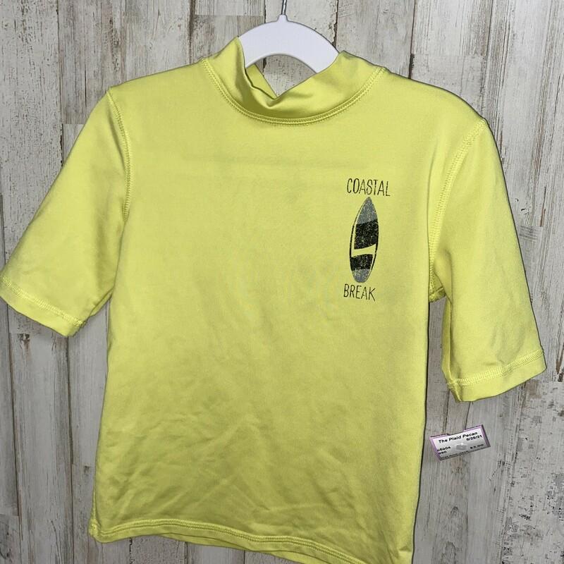 4/5t Coastal Break Swim T, Yellow, Size: Boy 2T-4T