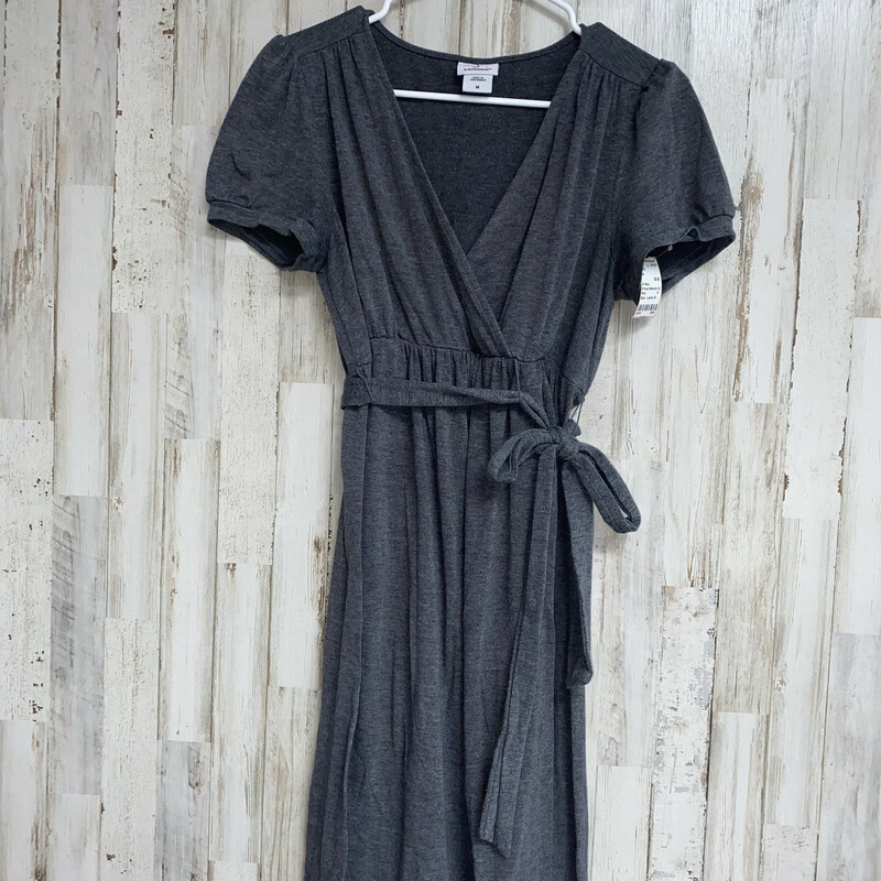 M Grey Maternity Dress, Grey, Size: Ladies M
