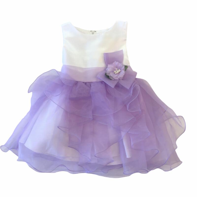 Purple, Purple, Size: 12-18 M