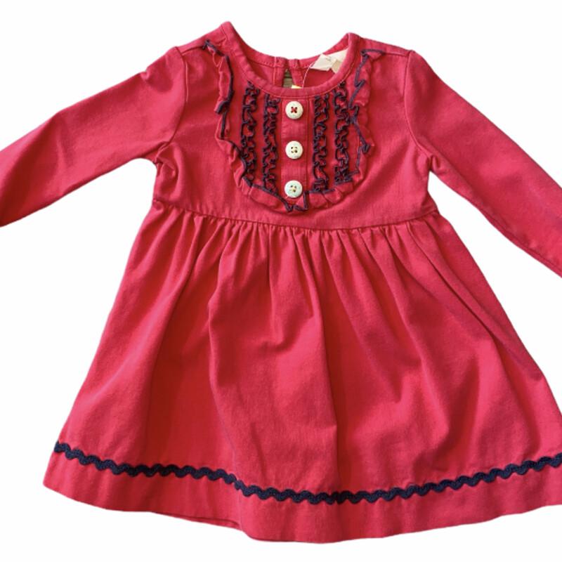 Maltilda Jane, Red, Size: 6-12 MO