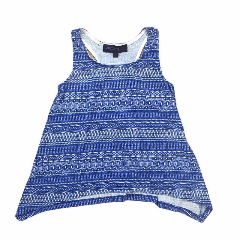 Weavers, Blue, Size: 8