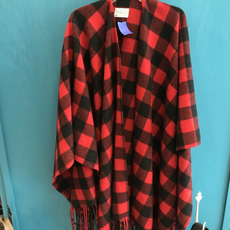 Pendleton, Red, Size: One
