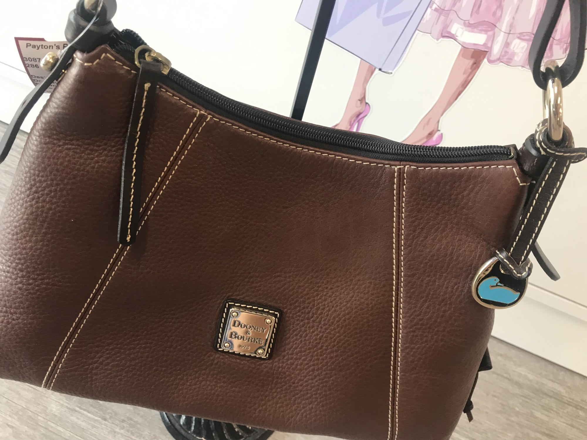 Dooney And Bourke, Brown, Size: M