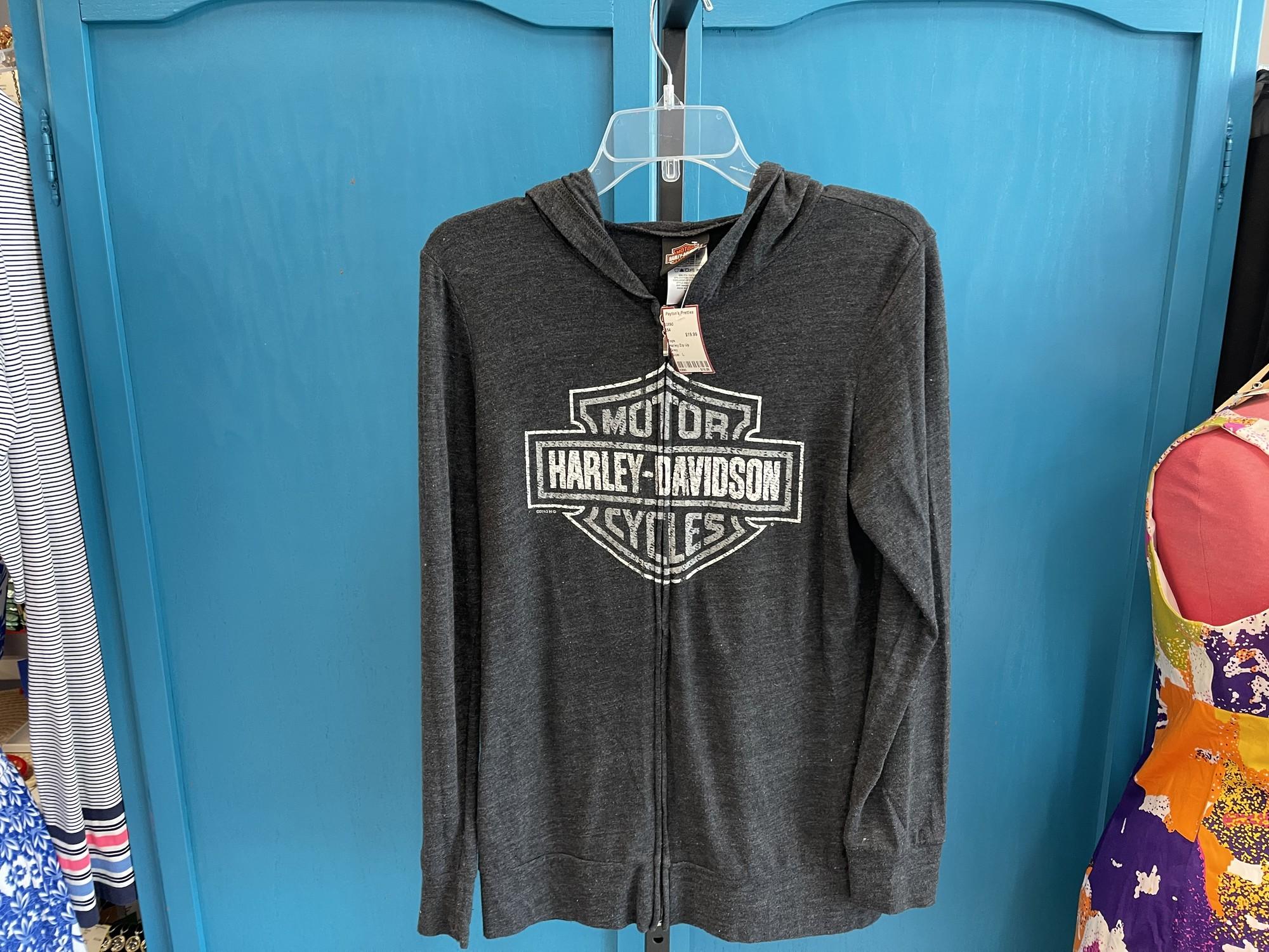 Harley Zip Up, Grey, Size: L