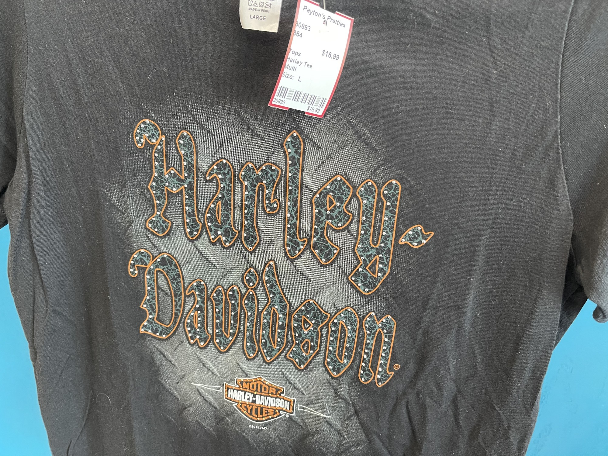 Harley Tee, Multi, Size: L