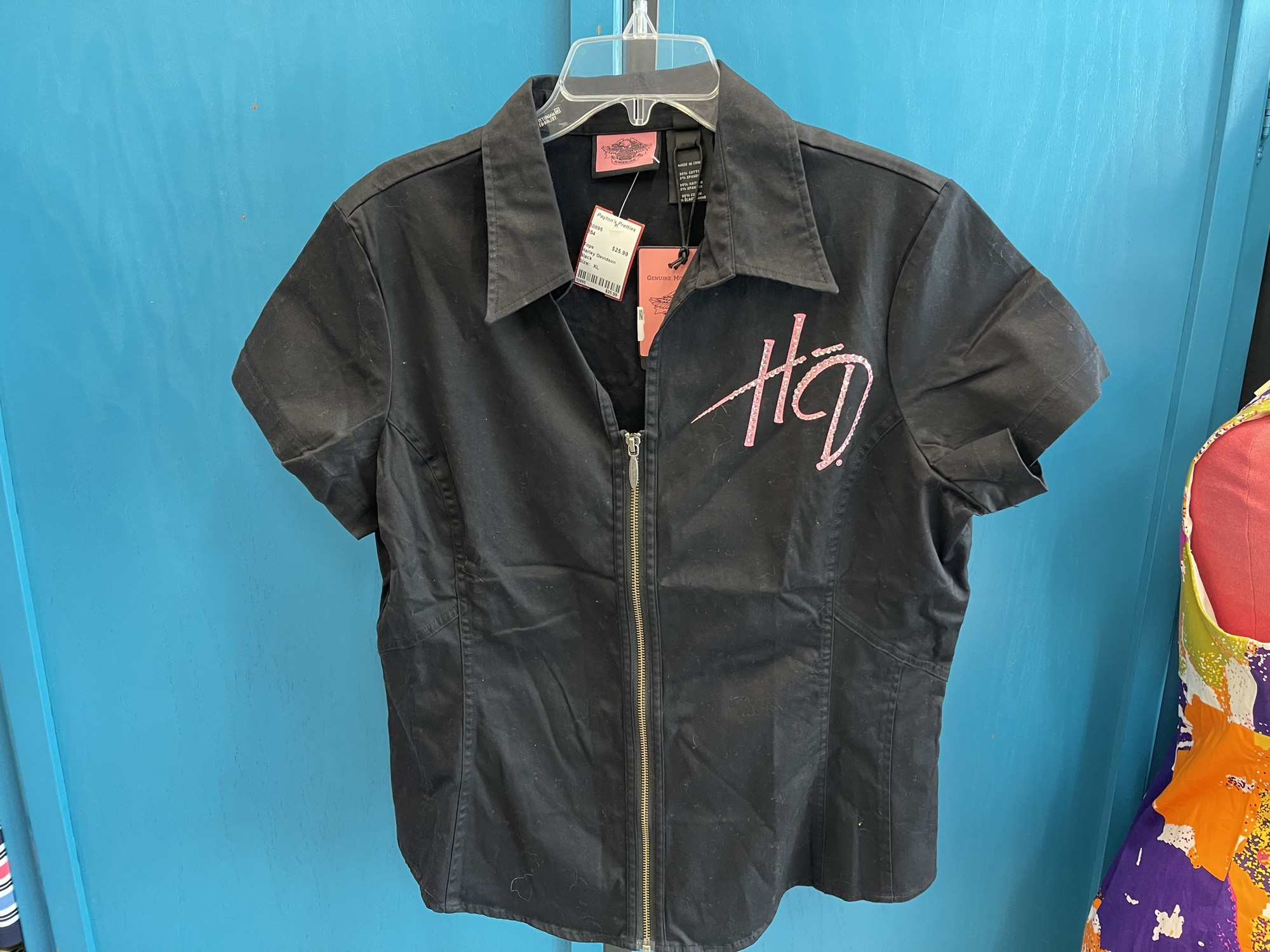 Harley Davidson, Black, Size: XL