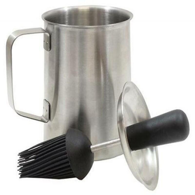 Sauce Pot & Basting Brush