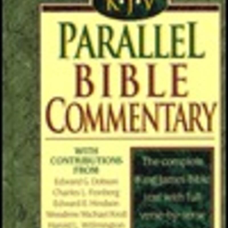 KJV Parallel Bible Comen