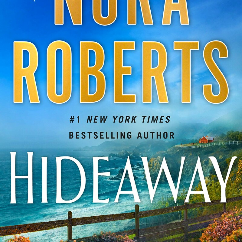Audio CD's  Hideaway by Nora Roberts (Goodreads Author)  A family ranch in Big Sur country and a legacy of Hollywood royalty set the stage for Nora Roberts' emotional new suspense novel.  Caitlyn Sullivan, a daughter of Hollywood royalty, was already a star at ten, but still loved to play hide-and-seek with her cousins at the family home in Big Sur. It was during one of those games that she disappeared.  Despite her glamorous background, Cate was a shrewd, scrappy survivor, and she managed to escape her abductors. Dillon Cooper was shocked to find the bruised and terrified girl huddled in his ranch house kitchen—but when the teenager and his family heard her story they provided refuge and comfort, reuniting her with her loved ones.  Cate's ordeal, though, was far from over. First came the discovery of a betrayal that would send someone she'd trusted to prison. Then there were years away in Ireland, sheltered and protected but with restlessness growing in her soul. Then, finally, she returned to Los Angeles, hoping to act again and get past the trauma that had derailed her life. What she didn't yet know was that two seeds had been planted that long-ago night—one of a great love, and one of a terrible vengeance…