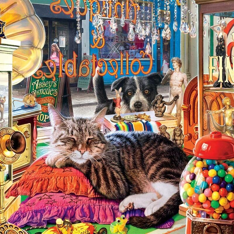 Curiosity Shop Cat