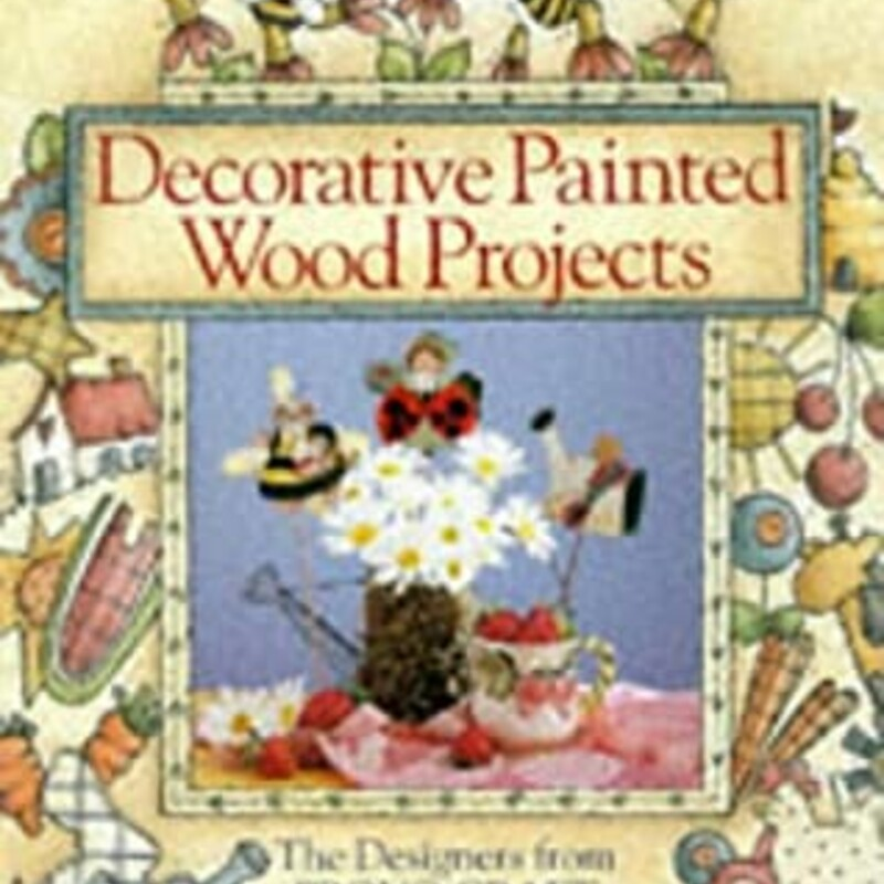 Decroative Painted Wood P