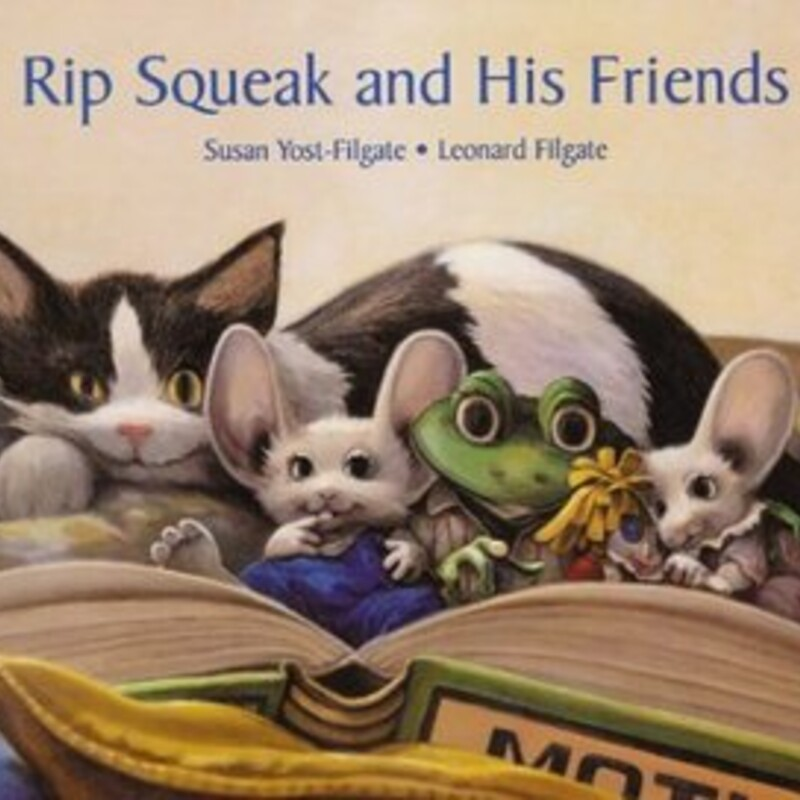 Rip Squeak And His Friend