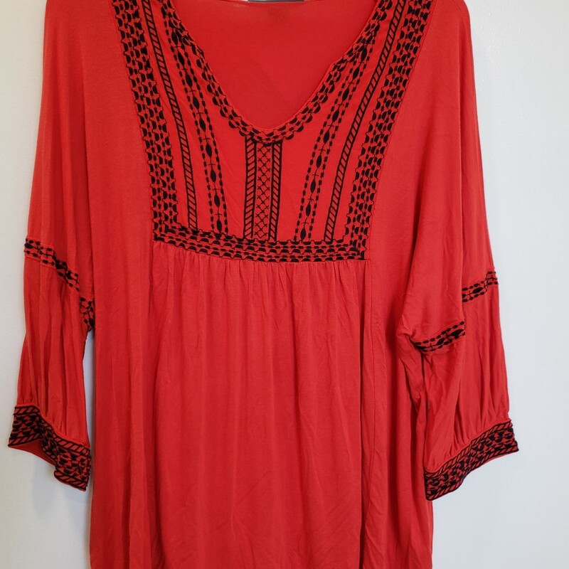 A Pea In The Pod Tunic, Red, Size: M
