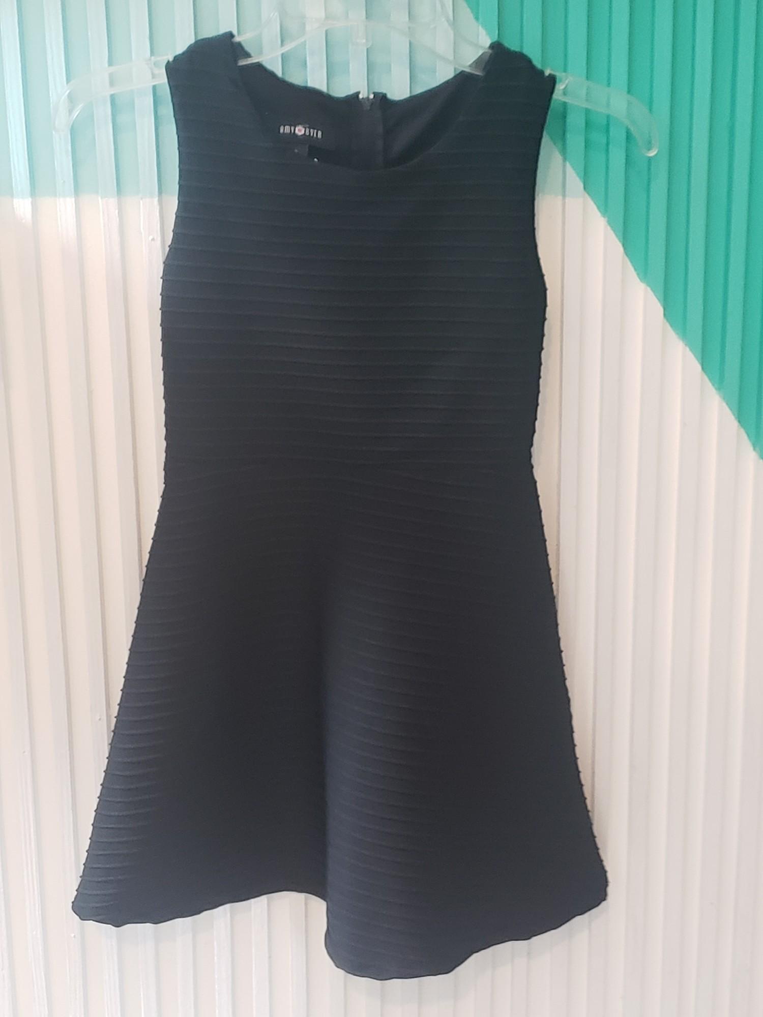 Amy Byer Dress, Black, Size: 8