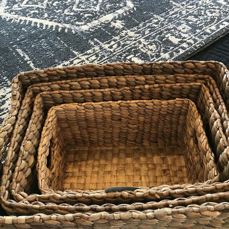 Hyacinth Nesting Baskets