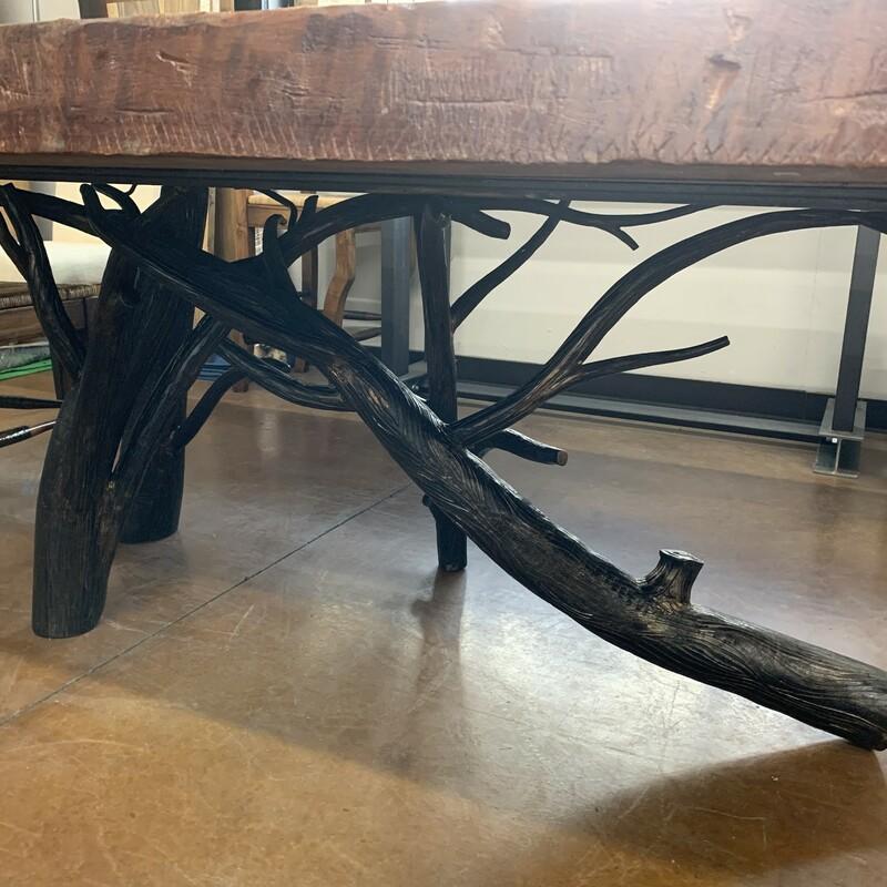 Salvaged Redwood Top