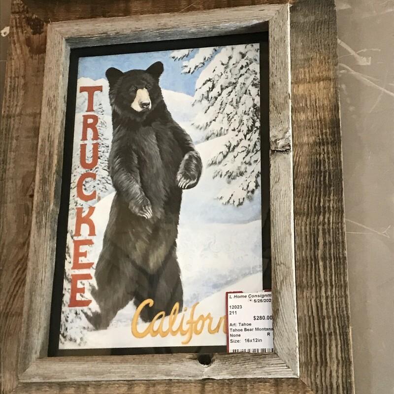Tahoe Bear Montana Barn W