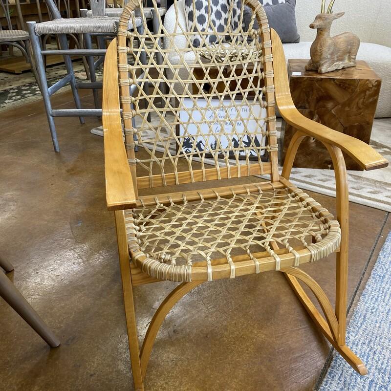Snowshoe Rocking Chair