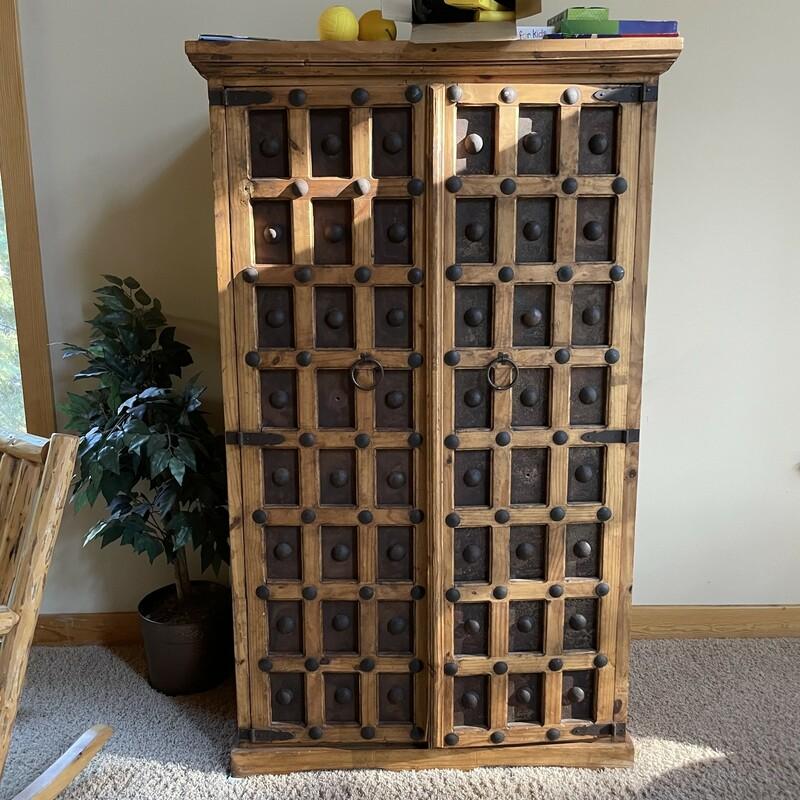 Wood/Iron Cabinet