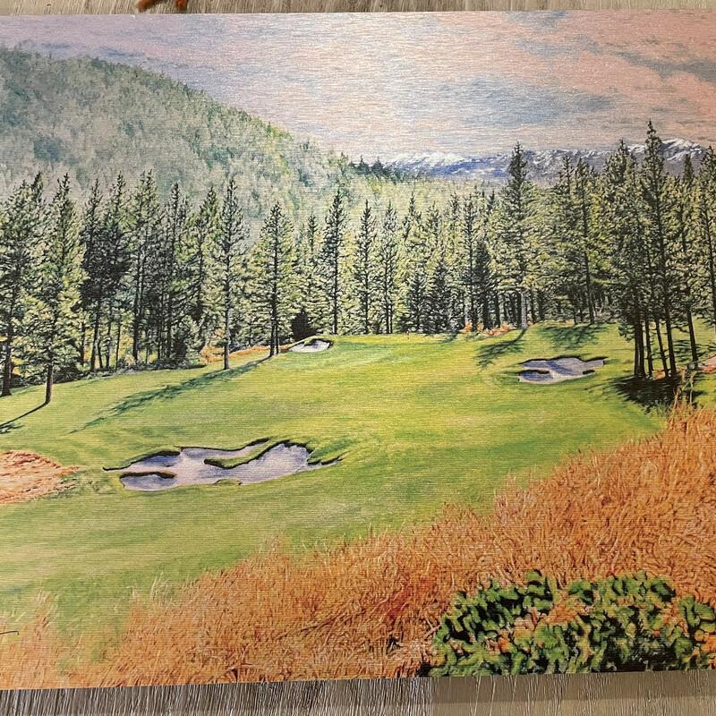 Tahoe Golf Print